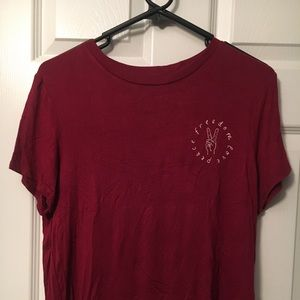H&M, Red T-Shirt